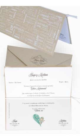 invitación de boda edima 100.716