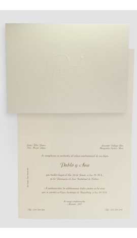 Tarjeta de Boda Edima 100062