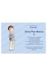 Pack 20 Invitaciones + Sobre Azul Edima 413841-B