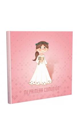 Libros de Comunión cuadrado con Estuche Lujo Edima 500854