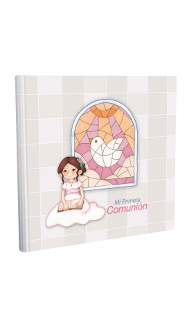 Libros de Comunión cuadrado con Estuche Lujo Edima 500858