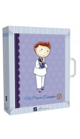 Libro de Firmas Comunión + Maletín Edima 500609