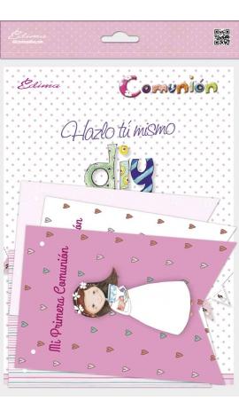 Pack 12 Banderines + 1 Banderín Personalizable Edima 465908-B