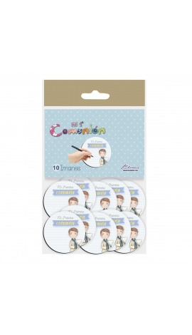 Pack 10 Imanes Edima 435985-B