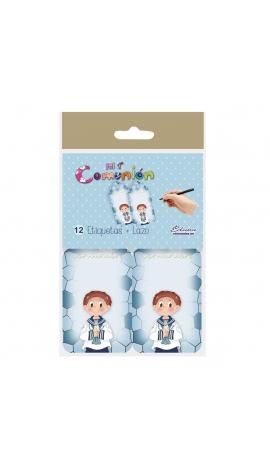 Pack 12 Etiquetas de Obsequio + Lazo Edima 410975-B